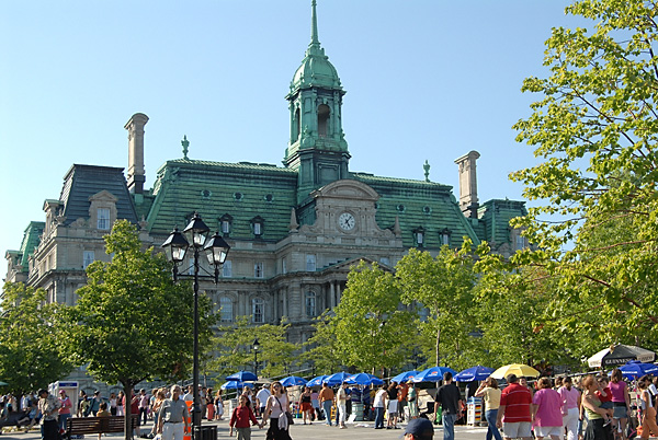 Montreal Place Jacques-Cartier