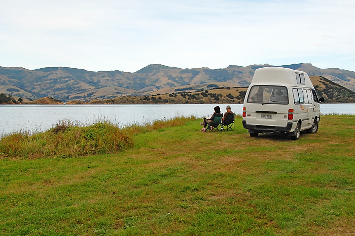 Akaroa Banks' Peninsula Halfmoon Cottage