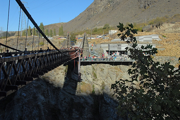 Kawarau Bridge in Queenstown, New Zealand