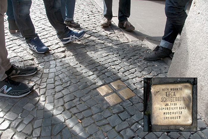 Berlin stolperstein stumbling stone