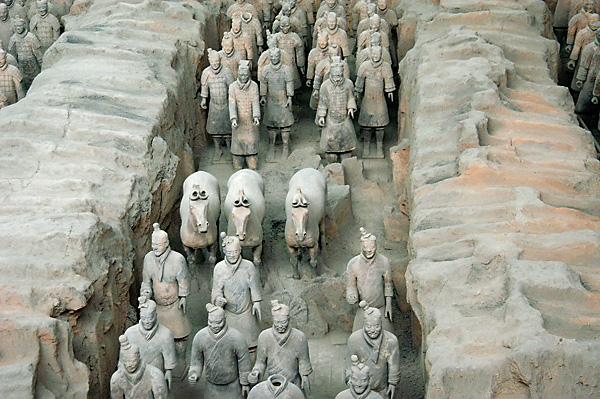 Xian China Army of Terracotta Warriors